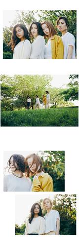 H&M/Makoto Kana Narumi Mika  ph/T.Kanda